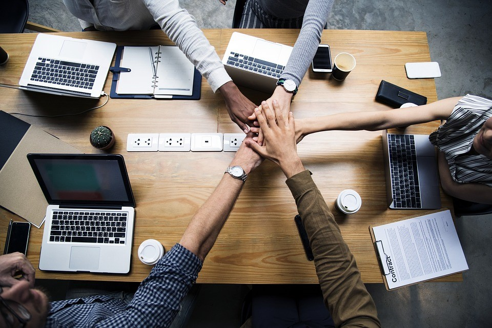 Corporate Teamwork