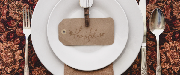 Placesetting Tahnk You Message for Life Insurance agents
