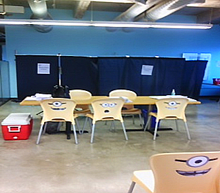 Onsite Covid-19 School Vaccination Waiting Area