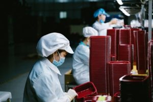 COVID-19 Vaccine being produced